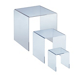 Perfect Cube Bridge Pedestal