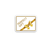 Gold Perfect Gift Sticker