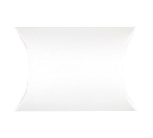 White Jewellery Cardboard Pillow Boxes