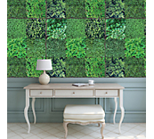 Green Plantation Wall Sticker