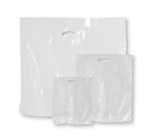 Economy Clear Plastic Carrier Bags