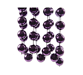 Purple Bauble Garlands
