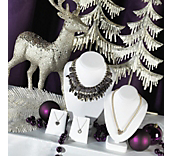 Purple Dinner Party Christmas Theme