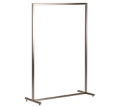 Queen Vogue Clothing Rail - Nickel