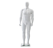 Male Plus Size Mannequin