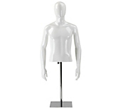 Male Faceless Mannequin Torsos