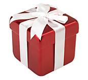 Red & White Gift Box