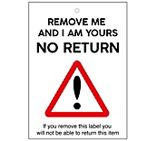 Remove Me I'm Yours Sticker