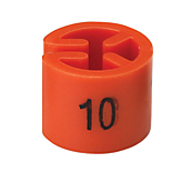 Round Hanger Markers - Coloured