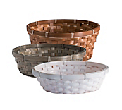 Round Shallow Baskets