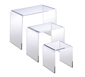 Set of 3 Premium Bridge Pedestals