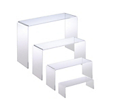 Set of 4 Slimline Pedestals