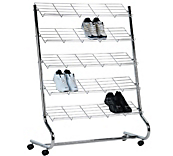Budget Single Sided Shoe Rack
