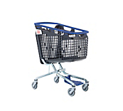 Shop And Roll Trolley Blue