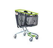 Shop And Roll Trolley Green