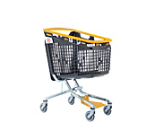 Shop And Roll Trolley Yellow