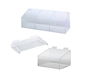 Acrylic Slatwall Fittings