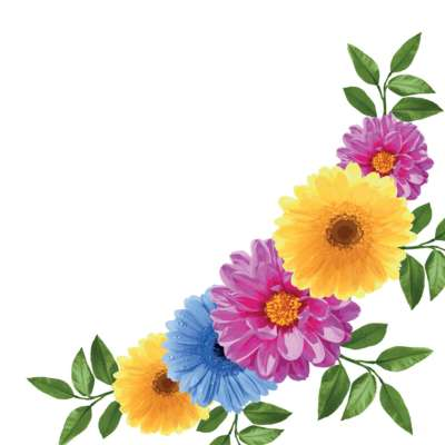 Spring Flowers Window Cling Range
