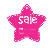 Star Sale Tickets - Pink