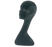 Black Swan Neck Mannequin Head