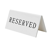 Table Reservation Stands