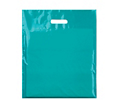 Turquoise Plastic Carrier Bags
