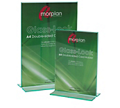 Double Sided Card Display - Green