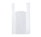 Vest Plastic Carrier Bags - White