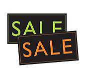 VIBRANT Sale Posters