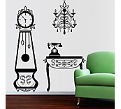 Vintage Suite Wall Sticker