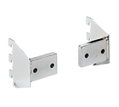Queen Vogue Chrome Rectangle Wall Fixings