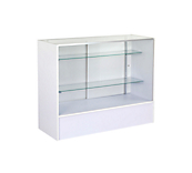 White Glazed Slimline Counter