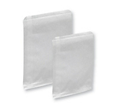 White Paper Bags - Non Gusset