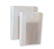 White Paper Bags - Gusset