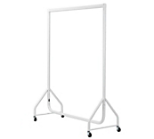 White Clothes Rails