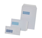White Window Envelopes