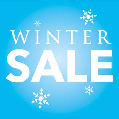 Winter Sale Window Cling