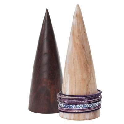 Wooden Bracelet Cones Item Level