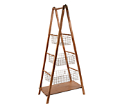 Wooden Display Ladders
