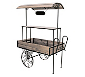 Wooden Retail & Cart Shelves