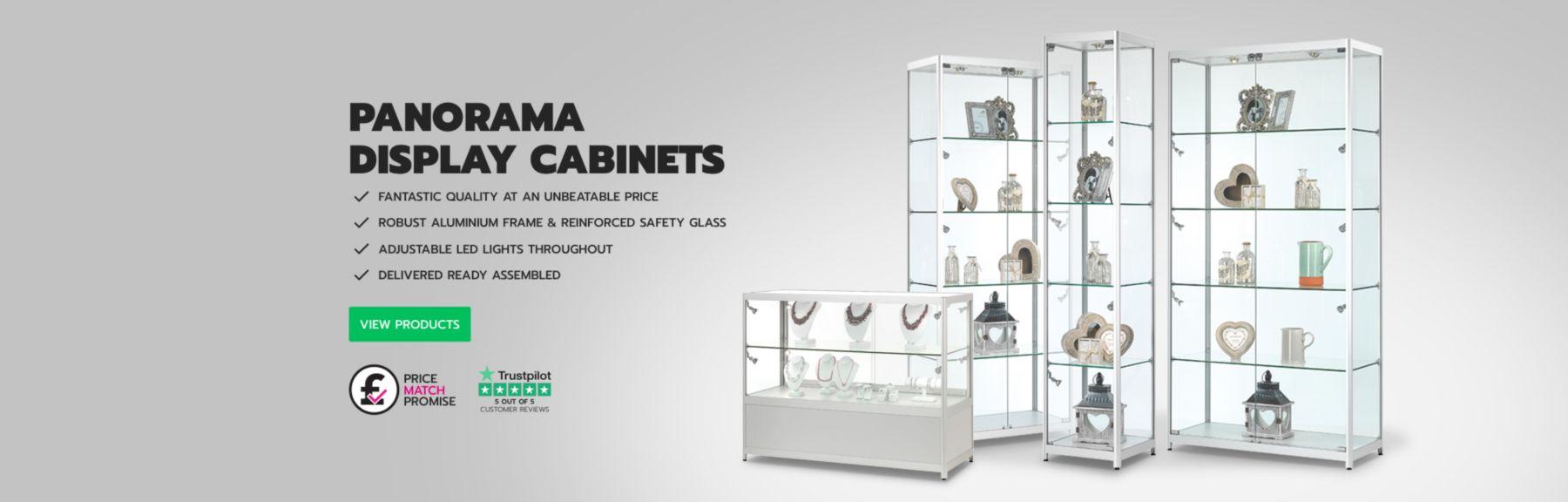 Panorama Display Cabinets